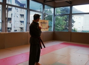 Qwan Ki Do - Foto diplomi e Passaggio cintura Franca e 4° dang Maestro (10)