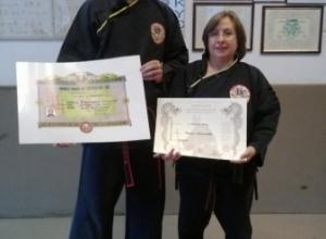 Qwan Ki Do - Foto diplomi e Passaggio cintura Franca e 4° dang Maestro (11)