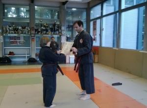 Qwan Ki Do - Foto diplomi e Passaggio cintura Franca e 4° dang Maestro (8)